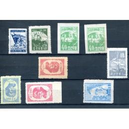 1952/55 Korea - Corea mnh