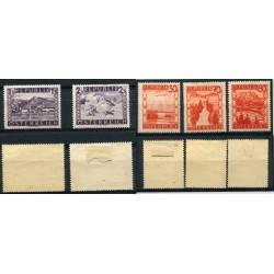 1965  HUNGARY N.2 BF.  N.55 DENT. NON DENT. MNH     ONT460