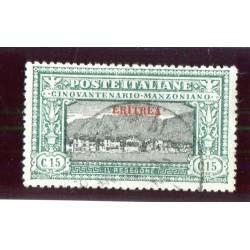 1924 ITALIA ERITREA MANZONI...